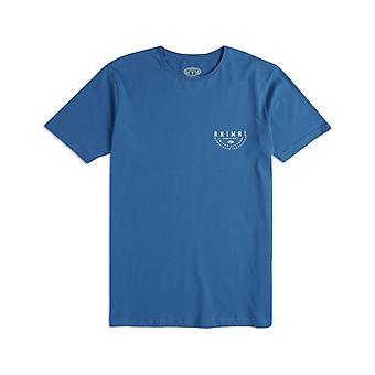 Animal Sconna kort ermet T-skjorte i dødelig blå
