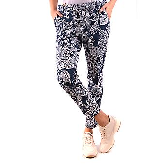 Fay Ezbc035051 Women's Multicolor Cotton Pants