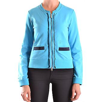 Etiqueta Negra Ezbc183008 Women's Light Blue Cotton Blazer