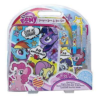 Mi pequeño pony secretos cómic libro y bolsa conjunto
