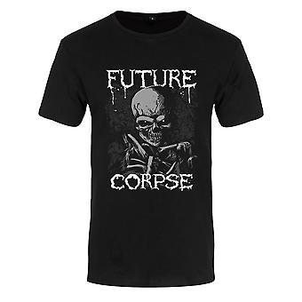 Grindstore Mens Future Corpse Premium T-paita