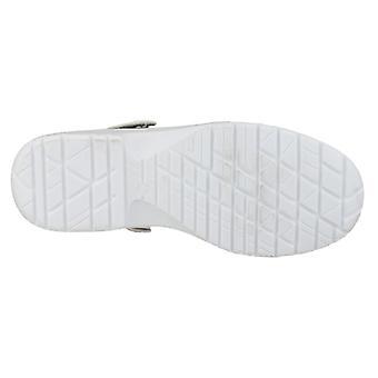 Amblers FS512 Unisex hvit tette sikkerhet sko