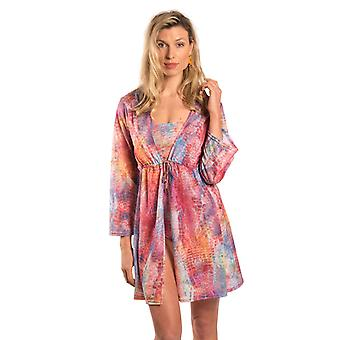 Kiniki Siena Tan Through Knee Length Kaftan