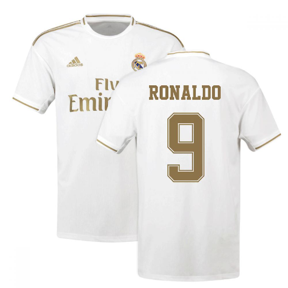 cheap for discount 25c98 cb3b1 2019-2020 Real Madrid Adidas Home Shirt (Kids) (RONALDO 9)