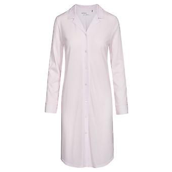 Rasch 1193719-14706 Mujeres's Pure Pink Minimal Print Cotton Nightdress