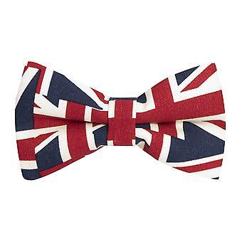 Union Jack muszkę, Mens Bowtie, muszka Wielkiej Brytanii