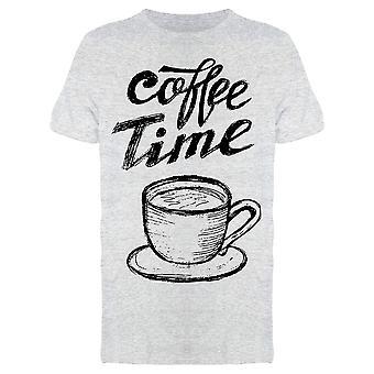 Coffee Time Chalkboard Art Tee Men-apos;s -Image par Shutterstock
