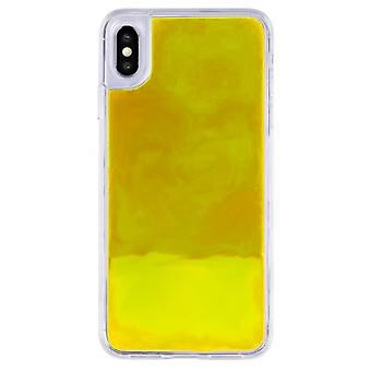 Case CoolSkin Liquid Neon TPU for Samsung A50 Yellow
