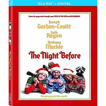 Night Before [Blu-ray] USA import