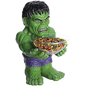 Hulk candy bolle holderen halv statuen 40 cm med bolle