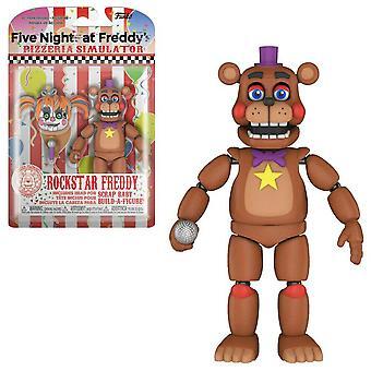 Five Nights at Freddy's Pizza Sim Rockstar Freddy Figure