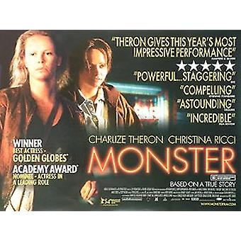 Monster Original Cinema Poster