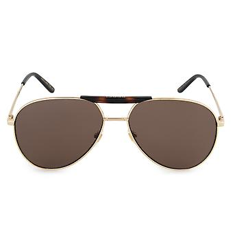 Gucci Aviator Sunglasses GG0242S 002 59