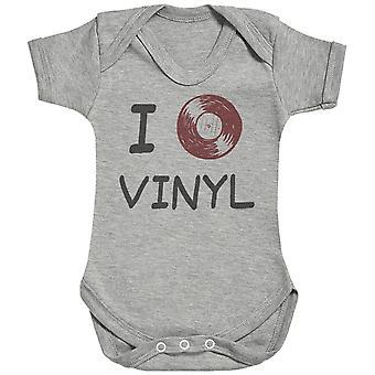 I Love Vinyl - Baby Bodysuit