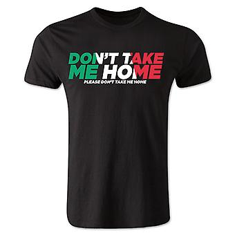 Dont tage mig hjem - Italien T-Shirt (sort)