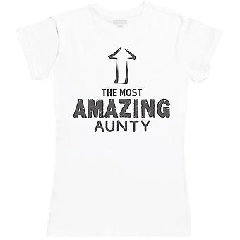 The Most Amazing Aunty - Womens T- Shirt