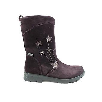 Ricosta Steffi 7224600-390 Pflaume Wildleder Leder Mädchen lange Bein Stiefel