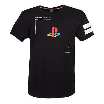 Sony Playstation Tech19 T-Shirt Male Large Black (TS420704SNY-L)