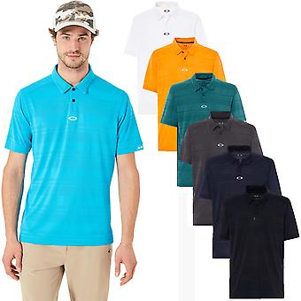 Oakley Sport Herren Aero Stripe Jacquard Polo Shirt
