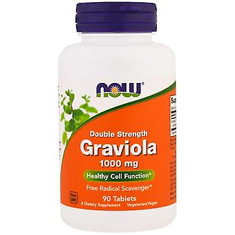 Graviola- Double Strength- 1000 mg (90 tablets) - Now Foods