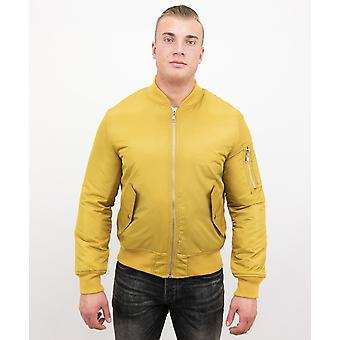 BomberJack - Bomber Jacket Basic - Yellow