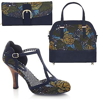 Ruby Shoo Women's Polly Mary Jane Pumps & Matching Lima Bag & Como Purse