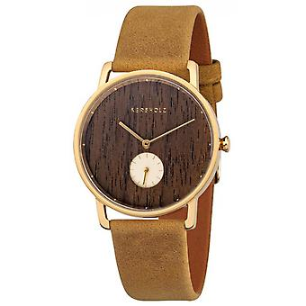 Watch Kerbholz BOXFRID7609 - Cabinet Frida Leather Brown