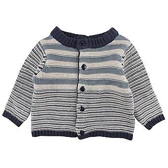 Knit Cardigan Stripes Fixoni