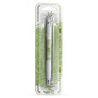 Poeira do arco-íris double-sided Food Pens Comestível Food Pen Folha Verde