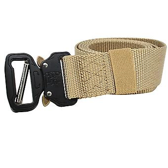 Tactical Belt Adjustable Military Style Webbing Belt With Side Release Buckle