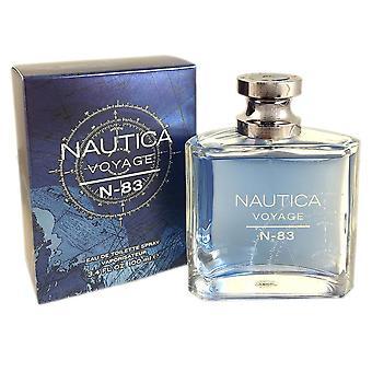 Nautica voyage n-83 for men 3.4oz eau de toilette sp
