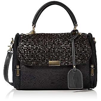 Laura Vita 3075 - Black Woman handbag (Schwarz (Noir)) 15x20x28 cm (B x H T)