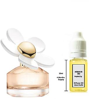 Marc Jacobs Daisy Love For Her Inspired Fragrance 30ml Refill Essential Diffuser Oil