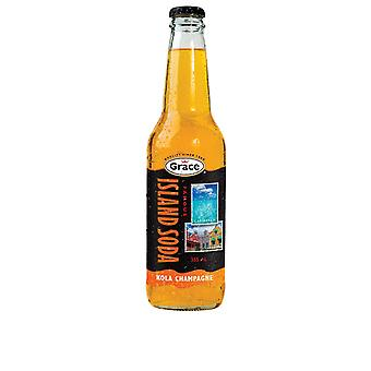 Grace Island Soda Kola Champagne -( 2 Lt X 1 flaskor)