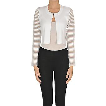 Nenette Ezgl266102 Women's White Viscose Cardigan