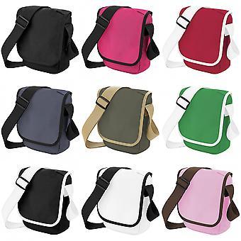 BagBase Mini verstellbare Reporter / Messenger Bag (2 Liter)