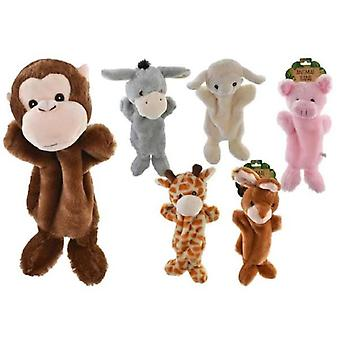 Animal Hand Puppet 25cm - 1 Fourni