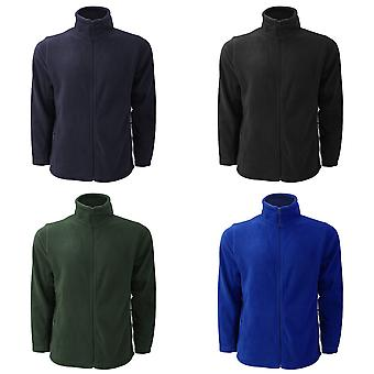 Russell Mens Full Zip Outdoor Fleece Jacket