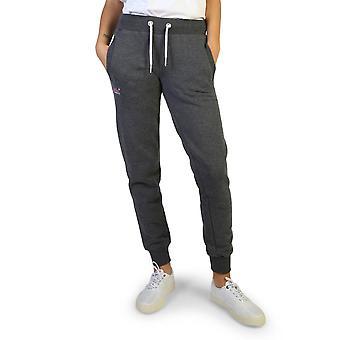 Superdry Original Damen Herbst/Winter Trainingsanzug Hose - grau Farbe 37731