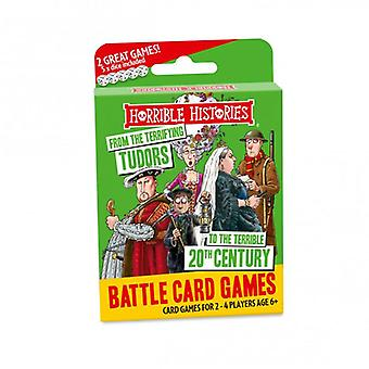 Horrible Histories Battle Card Games Tudors to 20th Century