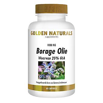 Golden Naturals Borage Oil (60 capsules)