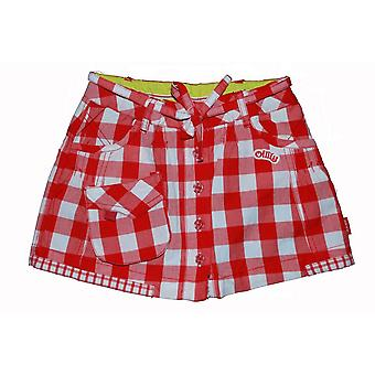 Oilily skirt Siepie (white square) (Red)