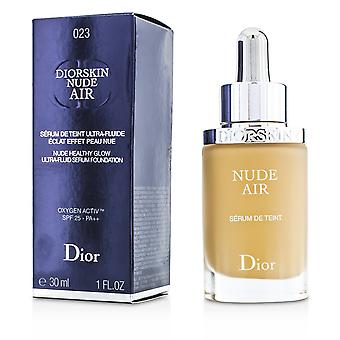 Diorskin Nøgen Air Serum Foundation SPF25 - # 023 Fersken 30ml/1oz