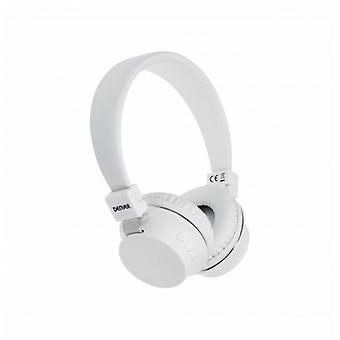 Bluetooth Headphones Denver Electronics BTH-205 White