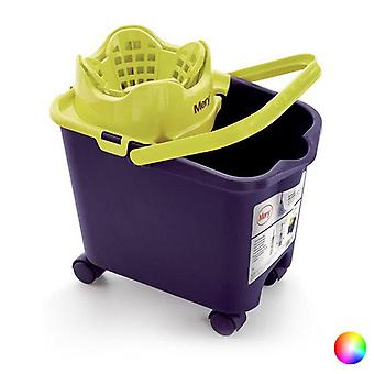 Mop Bucket with Automatic Drainer Rayen 14 L (38,5 x 39 x 25,5 cm)/Grey