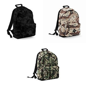 Bagbase Camouflage Backpack / Rucksack (18 Litres) (Pack of 2)