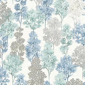 Elements Whinfell Wallpaper Soft Teal / Blue Holden 90382