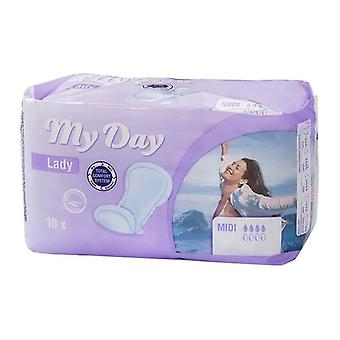 Incontinence Sanitary Pad Midi My Day (10 uds)