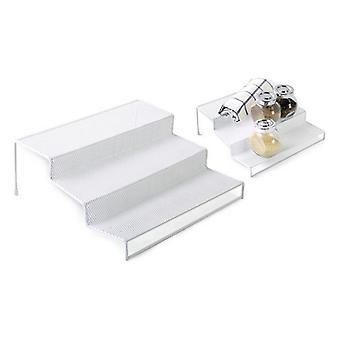 Multifunktionsorganisator Confortime Metal White (26,5 x 25,5 x 10,5 cm)