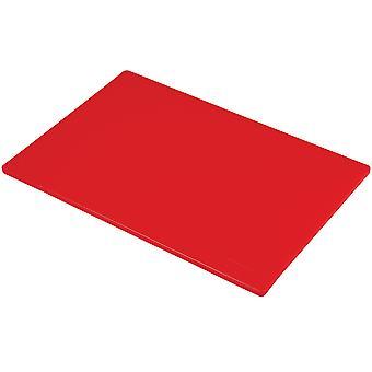 Hygiplas Low Density Red Chopping Boards